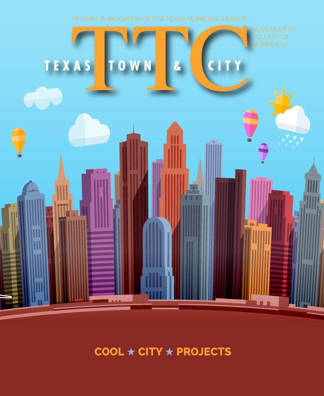 TTC Texas Town and City Cool City Projects